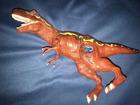 Boneco Dinossauro T-Rex com som