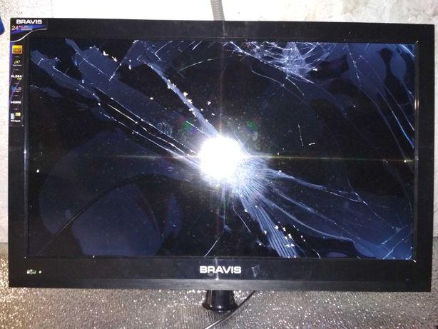 Телевізор BRAVIS LED-24A45 запчастини(Донор)