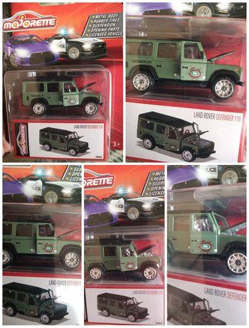 Model Majorette Land Rover Defender 110 Deluxe Cars