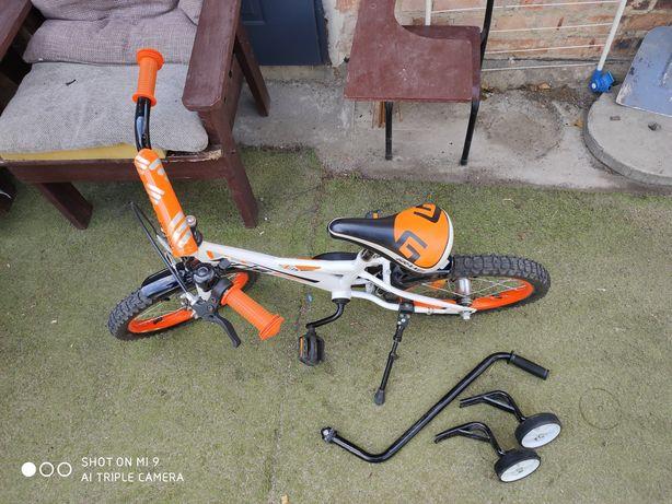 Rowerek 16 dla początkujących maluchów