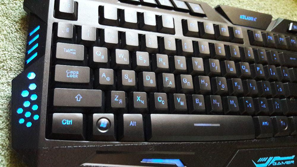 Игровая профессиональная клавиатура M200 с 3 видами подсветки Александрия - изображение 1