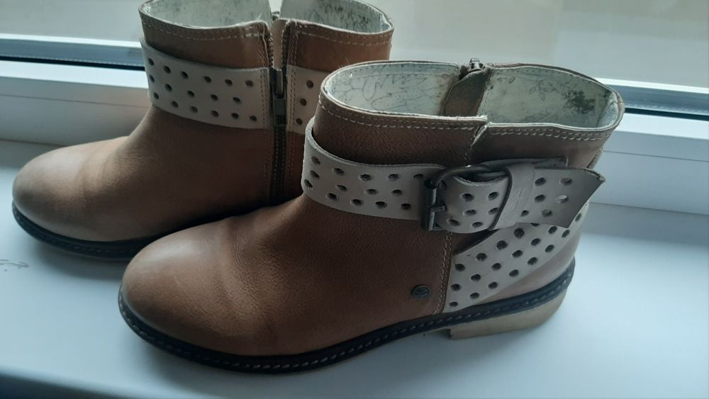 Сапоги ботинки кожа Рахов - изображение 1