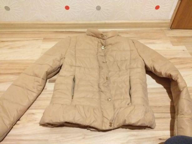 Pikowana kurtka jesienna S