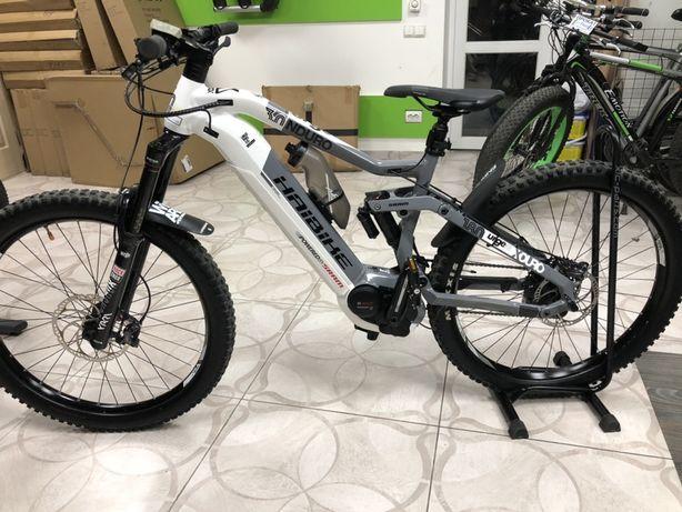 "Велосипед Haibike XDURO Nduro 3.0 500Wh 27.5"", рама M, серо-бело-черны"