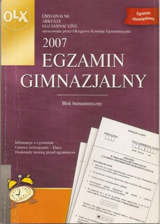 Egzamin gimnazjalny 2007 Blok humanistyczny - Greg
