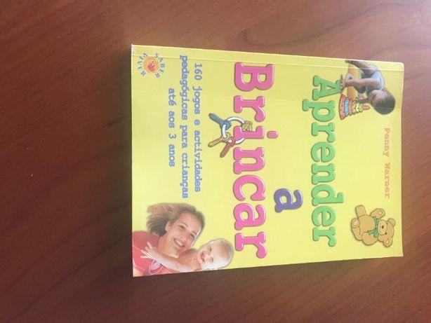"""Livro """"Aprender a brincar"""""""