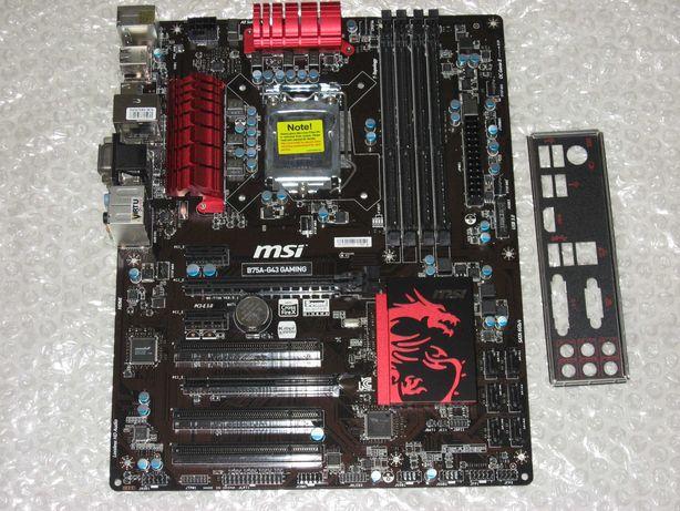 Системная плата MSI B75A-G43 GAMING сокет 1155