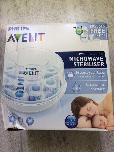 Avent Philips mikrofalowy sterylizator butelek