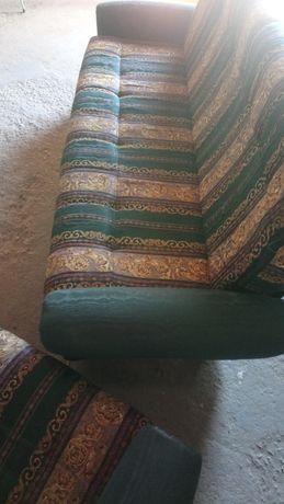 Conjunto de sofas impecaveis em tecido