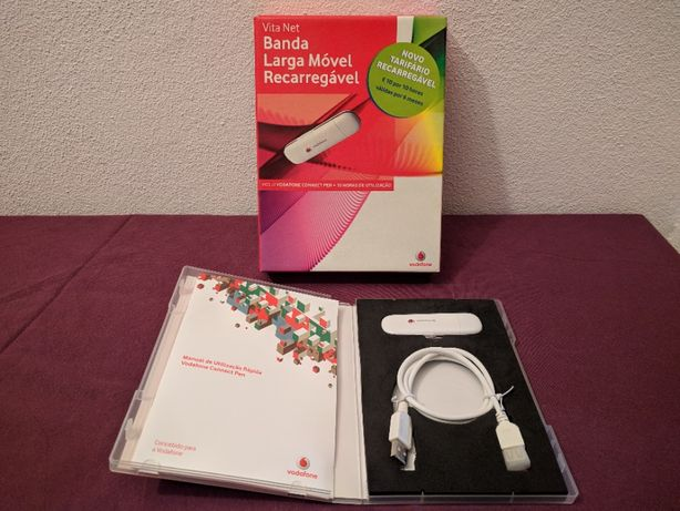 Pen Banda Larga Móvel Recarregável Vita net Vodafone barata!