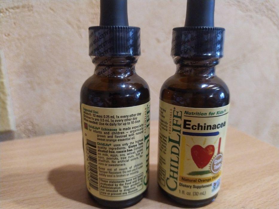 ChildLife, Essentials, эхинацея, натуральный апельсиновый вкус, 30 мл Винница - изображение 1