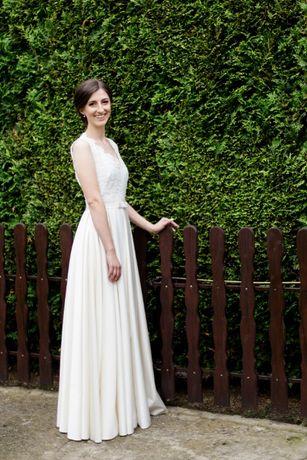 Suknia ślubna Ivory litera A 34