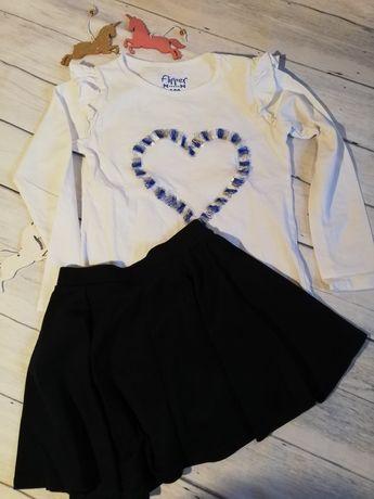 Galowe ubranie - pluzeczja i spódniczka