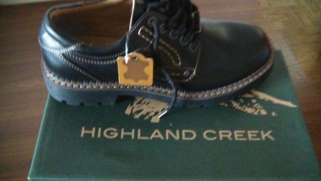 Sapatos de homem em pele genuina nº45