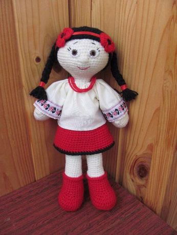 Кукла в национальном стиле Украиночка