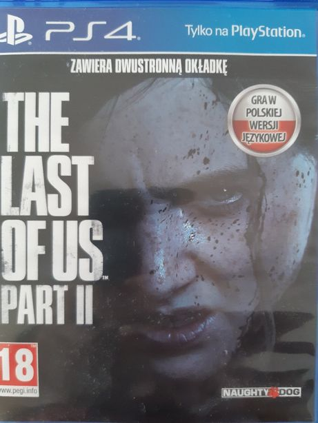 THE LAST OF US Part 2 Playstation 4 (PS4) wersja PL