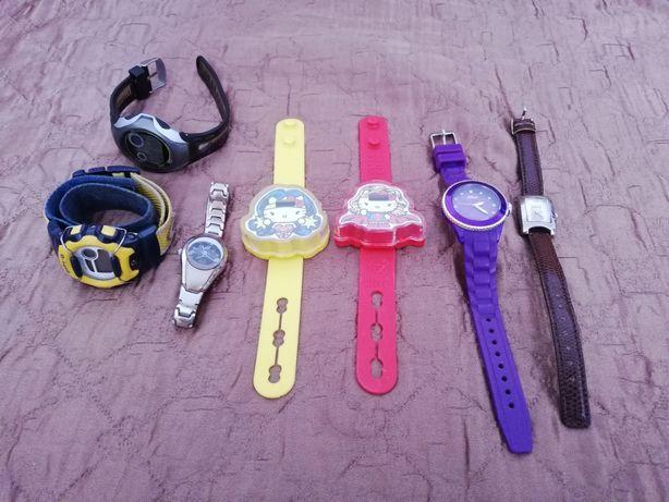 Zegarki naręczne zestaw 7x