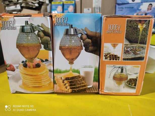 Диспенсер для меда и соусов 200 мл Honey dispenser! Поливалка для мёда