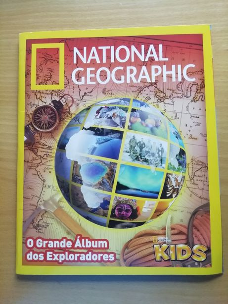 Caderneta National Geographic