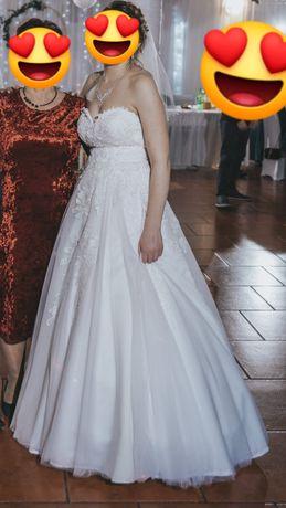 Suknia ślubna ecry