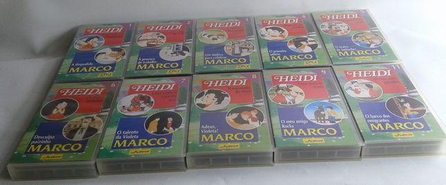 Heidi-Marco. Cassetes VHS