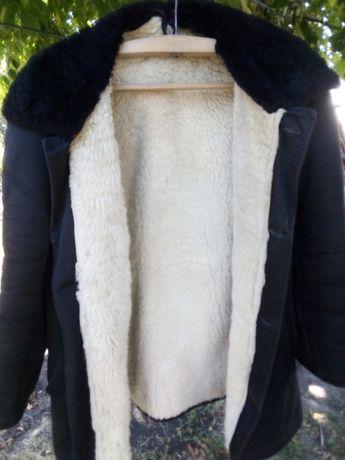 Продам удлиненную куртку из натуральной овчины