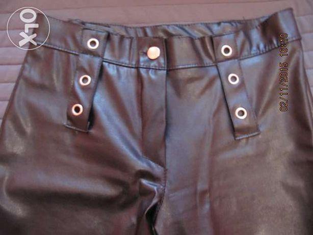Spodnie skórzane ,damskie. Roz. M.
