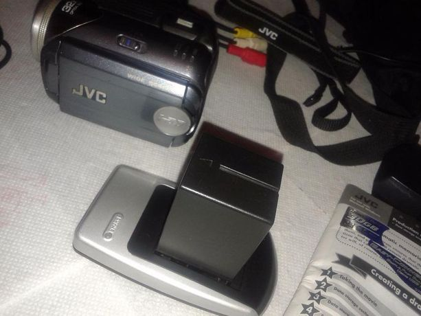 kamera cyfrowa JVC Everio zoom 32 dysk HDD 30gb SD USB stan idealny
