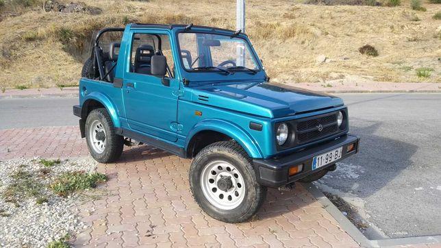 Suzuki Samurai/Santana SJ413 Cabrio 1992 4x4 restaurado + extras