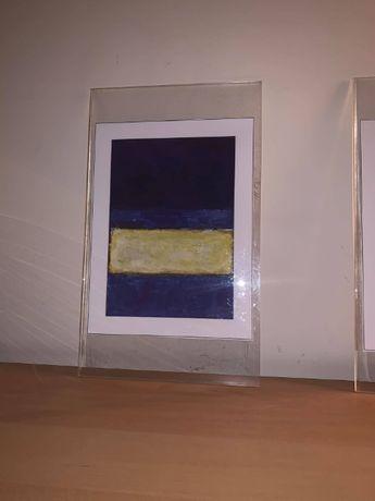Quadro de Pintura a óleo de Mark Rothko (1968)