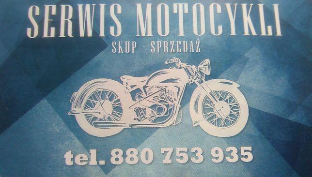 Naprawa Motocykli Skuterów Motorowerów Cross quad Skup Sprzedaz Am6 in