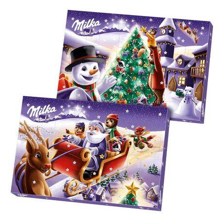 Адвент Календарь Шоколад Milka 200g