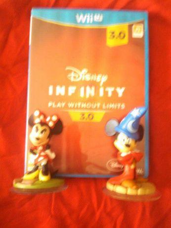 jogo disney infinity wii u ou ps3. com 2 figuras mais mickey ou minni