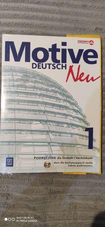 Motive Deutsch new 1 podręcznik + płyta