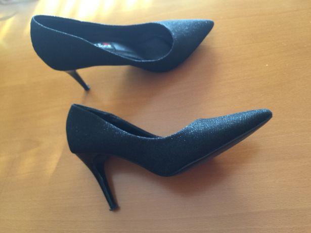 Sapatos muito elegantes.