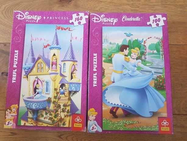 Puzzle dla dziewczynki 2 sztuki
