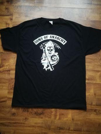 Koszulka T Shirt Sons of Anarchy SOA nowa XL