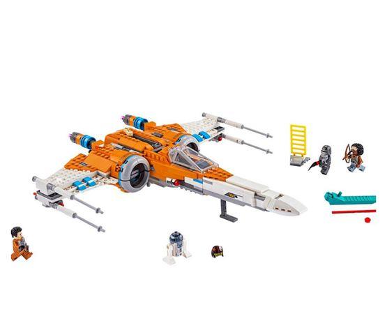 Set / Kit Star Wars X-Wing Fighter Laranja (compativel com Lego)