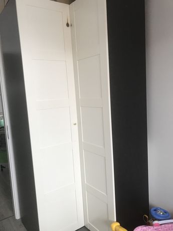 Szafa do garderoby Ikea PAX narożna garberoba