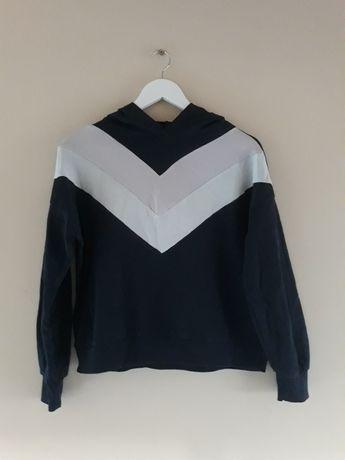 Bluza damska czarna z kapturem M