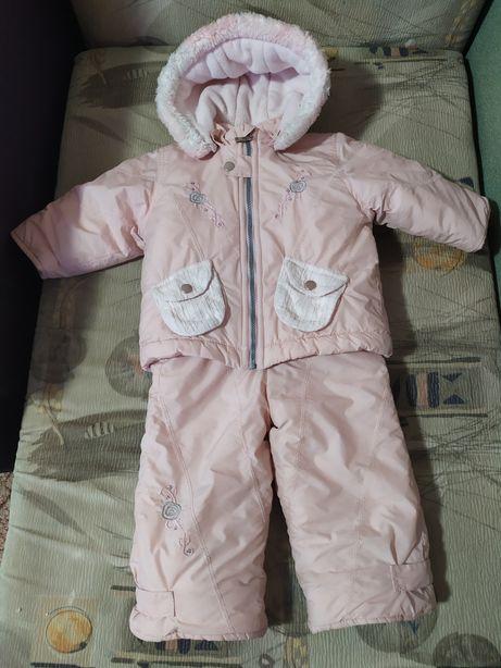 Зимний комбинезон, костюм, комплект курточка и штаны