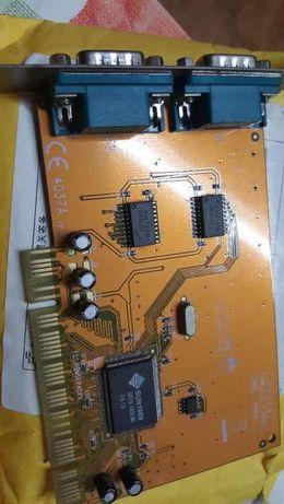 Placa PCI c/ 2 portas Série RS232