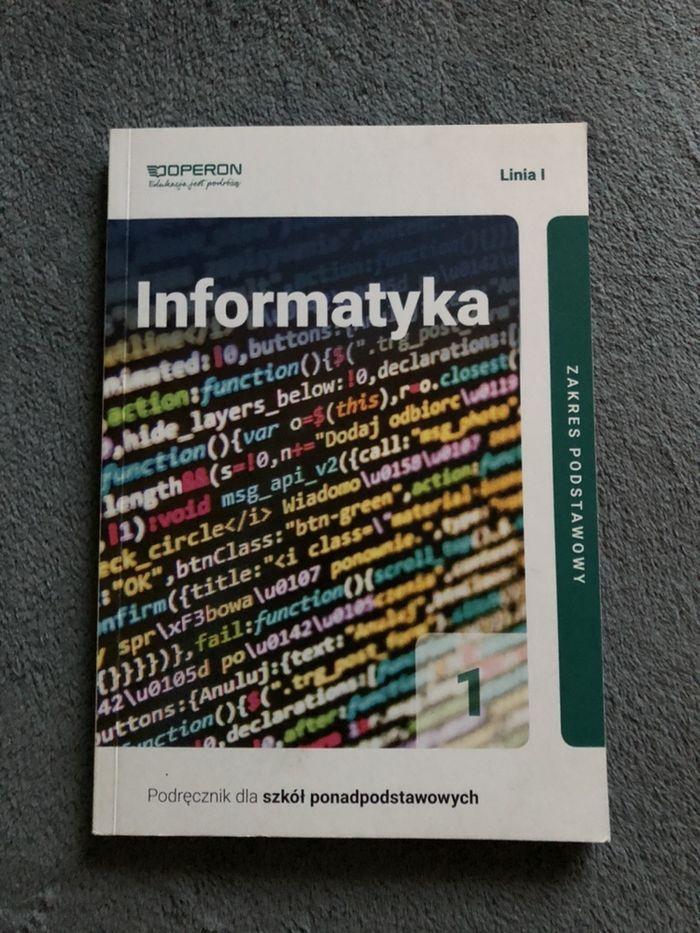 Informatyka 1 dla szkół ponadpodstawowych Piekary Śląskie - image 1