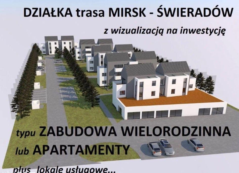 Działka Mirsk Świeradów na Apartamenty Mieszkania Mirsk - image 1