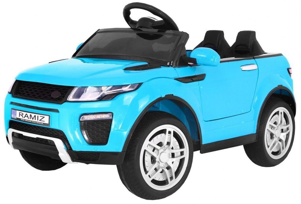 Auto na akumulator Dla Dzieci Rapid Racer Niebieski Warszawa - image 1