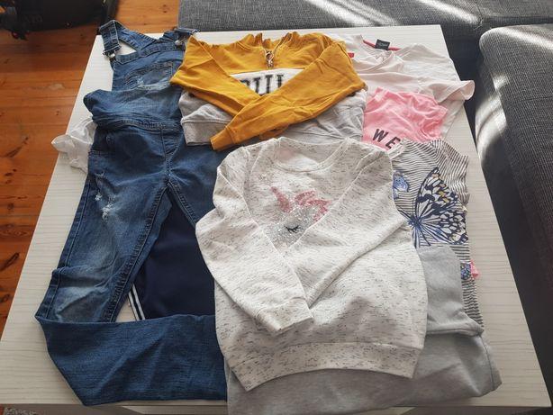 Gratis Kurtka+Zestaw ubrań dla dziewczynki 140/146