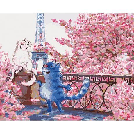 Картины по номерам - Свидание в Париже (КНО4047)