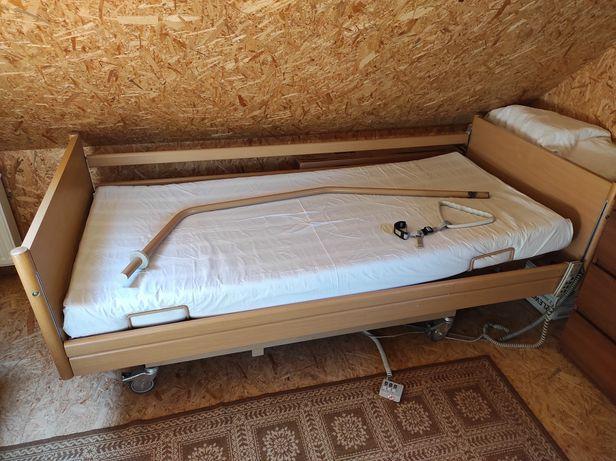 Łóżko ortopedyczne + zestaw pieluch gratis