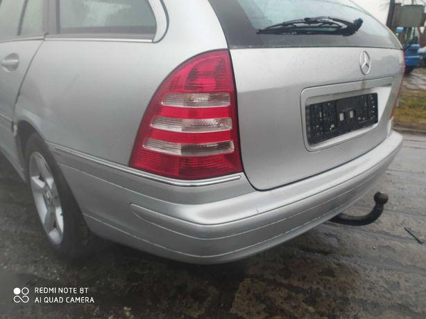 Mercedes W 203 kombi zderzak tył
