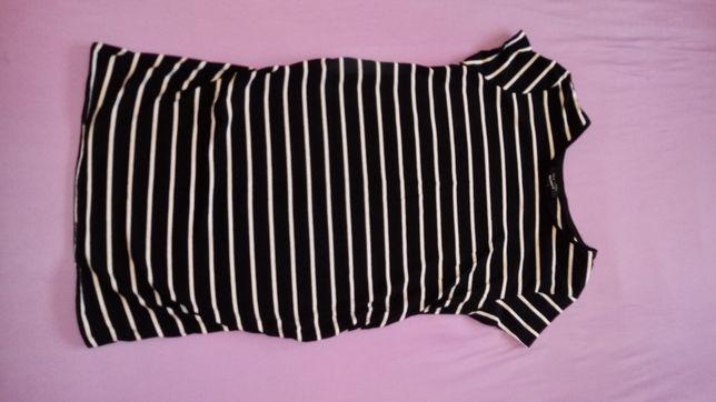 Tunika ciążowa krótki rękaw